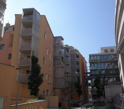 geländer, dachausbau, balkone