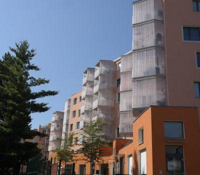 balkone, glasgeländer