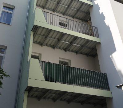balkone, handläufe, geländer