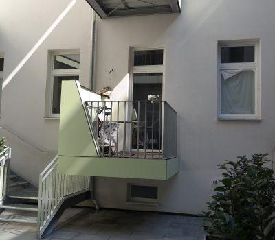 balkone, geländer, handläufe